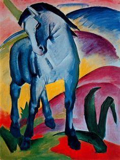 History of Art: Paintings that Changed the World Franz Marc (1880—1916) Blue Horse I 1911
