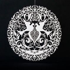 Turtledove | Papercutart Online Store