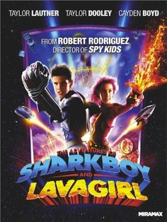 The Adventures Of Shark Boy And Lava Girl... I should probably mention how many of these films I was dragged to against my will...
