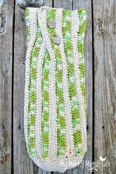 My Merry Messy Life: Crochet Baby Cocoon Free Pattern