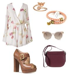 """""""Night Out on the Town"""" by pjcamg07 ❤ liked on Polyvore featuring Michael Kors and Alex and Ani"""