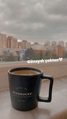 Coffee Vs Tea, Coffee Time, Coffee Mugs, Starbucks Seattle, Learn Turkish Language, Snapchat, Coffee Pictures, Nescafe, Instagram Story Ideas