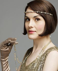 DOWNTON ABBEY ~ Season 6. Michelle Dockery as Lady Mary Crawley.