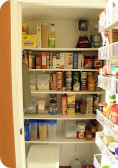 Converting A Small Coat Closet To A Pantry | And I Had No Intention Of  Changing