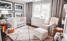 Project Nursery - Neutral Girl's Nursery with Copper Accents