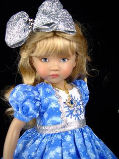 Dress fits Effner 13, Little Darling, Betsy McCall. Little Charmers Doll Designs