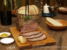 Roast Beef for a Wedding Feast – A top/inside-round roast is an economical, tasty and relatively tender cut that makes for a wonderful Sunday or special occasion dinner.