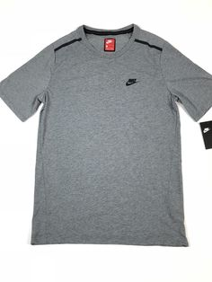eefb7cd6977d Mens Nike Sportswear Tech Bonded Crew Shirt Size S Small NWT  60 886191 091