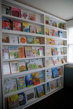 Coole Ideen für die Organisation von Kinderbüchereien - Bibliothek im Kinderzimmer