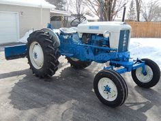 1962 Ford 4000 Row Crop