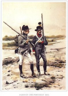 Pioniere e pontoniere  austriaci