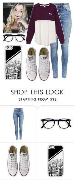 """""""❁ so baby pull me closer in the backseat of your rover •rtd"""" by foreverincali ❤ liked on Polyvore featuring H&M, Victoria's Secret, Converse and Casetify"""