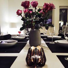 Blossom tealight candle holder - Black  www.beandliv.com #beandliv #design #interior  Photo by @tipsshopno