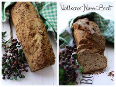 Brot, Bread, Vollkorn-Nuss-Brot, Backen, Frühstück