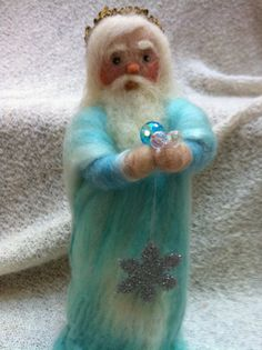 Felted King Winter by MimiDesign20 on Etsy, $54.95