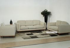 PANAMA 3+2+1 Sofa Range *Beige , Sofa & Ottoman, NZ's Largest Furniture Range with Guaranteed Lowest Prices: Bedroom Furniture, Sofa, Couch, Lounge suite, Dining Table and Chairs, Office, Commercial & Hospitality Furniturte