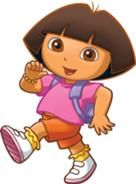Dora the Explorer- In the morning when I was little I used to watch Dora before I called my mom at work. It became natural to speak Spanish every morning. Now, I cant stand Dora. Elmo, 2 Birthday, Gifs Lindos, Sims 4, Doki, Dora The Explorer, Wow Art, Kids Shows, Disney Family