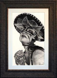 Fine art portrait painting by Brian M. Viveros