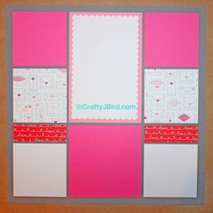 "Valentine's Day is just around the corner and I've got a double page layout from #MosaicMoments for your special pictures or anything else that you think goes with the theme. Head on over to today's ""Scrap It Friday"" post to see how the whole double page layout looks like and what photos I plan on using. You're gonna LOVE IT! Visit NOW!"