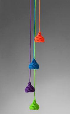 Nest #lamp by Accademia #knit #colour