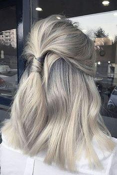 Perfect Wedding Hairstyles For Medium Hair ❤️ See more: http://www.weddingforward.com/wedding-hairstyles-for-medium-hair/ #weddingforward #bride #bridal #wedding