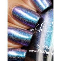 """KBSHimmer - """"None of Your Bismuth"""" - Hella Holo Customs Polish - February 2017"""