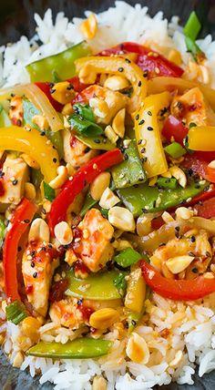 Szechuan Chicken Stir-Fry