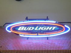 Bud Light Neon Sign Works Local Pickup Only | eBay