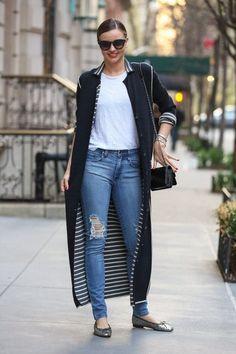 Model Miranda Kerr takes her son Flynn out to dinner in New York City, New York on April 19, 2014.
