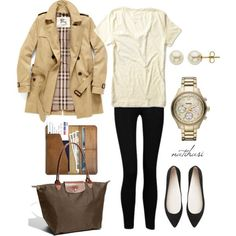 """Comfy but classy travelling Outfit""  #Fall #Winter 2015"