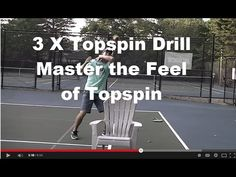 http://crunchtimecoaching.com/rafaelnadal/ In today's tennis game topspin is king. Topspin in tennis allows a tennis player to hit big heavy powerful shots a...
