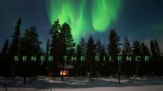 Sense the Silence - Finnish Lapland on Vimeo Northern Lights Video, Time Lapse Photography, Open Your Eyes, Natural Phenomena, Where To Go, Finland, Landscape Photography, In This Moment, Explore