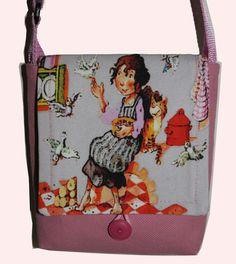"""Mit dieser Tasche gibt es keine Verwechselung im Kindergarten den sie ist """"Einmalig"""", sozusagen ein Unikat :-)"""