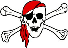 Pirate Skull And Crossbones | pirate_skull_and_crossbones.gif