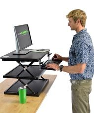 CHANGEdesk Tall Affordable Standing Desk Conversion