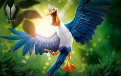 Pelican by Icarus CI, via Behance
