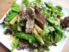 Lauwwarme salade met tonijn - #Glutenfree #glutenvrij