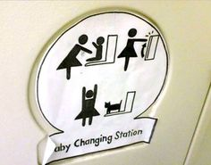 Magic Baby Changing Station!!!