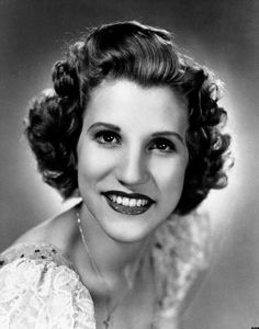 Patty Andrews of the Andrew Sisters