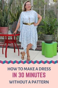 How to dress well: flattering clothes that hide figure flaws - Ageberry: helping you succeed in sewing Easy Sewing Patterns, Easy Sewing Projects, Sewing Projects For Beginners, Sewing Hacks, Sewing Tutorials, Pattern Sewing, Sewing Tips, Sewing Baby Clothes, Diy Clothes