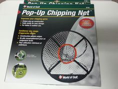 Golf Chipping Net Practice Pop-up Training Chip Shot Swing Chip-It-In Hole #JEFWorldofGolf
