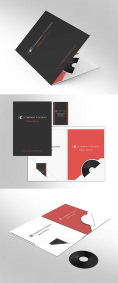 House Branded Vinyl Document Folder w// Business Card Holder for Realtors-2 pack