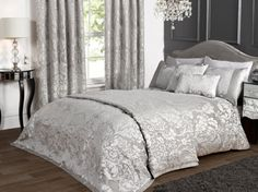 Search results for: 'home bed-bath duvet-cover-sets charleston-jacquard-duvet-set-duck-egg' Silver Bedding, Damask Bedding, Blue Bedding, Quilt Bedding, Paris Bedding, Ruffle Bedding, Blue Bedroom, Zara Home, Grey And White Bedding