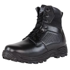 Condor Garner Tactical 235002 Mens Black Leather Military Combat BOOTS Shoes for sale online Military Combat Boots, Duty Gear, Side Zip Boots, Black 13, Waterproof Boots, Black Leather Boots, Tactical Gear, Shoe Boots