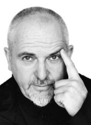 Peter Gabriel once of Genesis