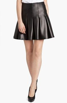 Designer Crush: MSGM Pleated Leather Skirt