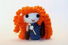 Mérida - Brave (Disney Princess) Amigurumi de LaCostureraGalactic en Etsy