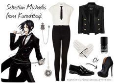 Casual cosplay  Sebastian Michaelis (Black butler)