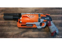 NERF Hammershot run mod adapters by Terin3DPrint on Etsy