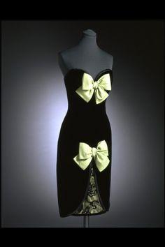 Dress  Yves Saint Laurent, 1985  The Victoria & Albert Museum